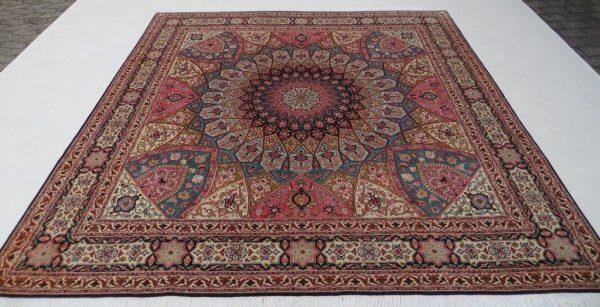 Tæbriz tæppe 250 x 250
