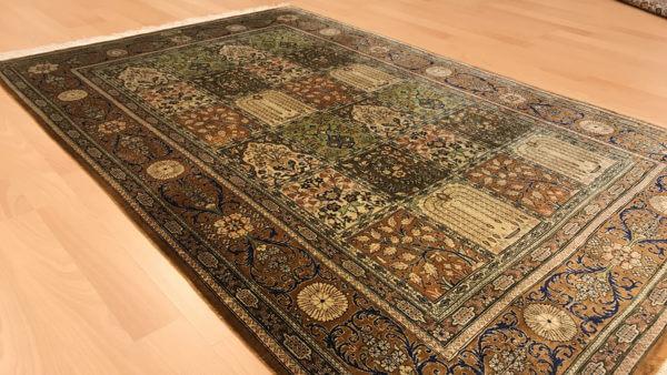Persisk silketæppe