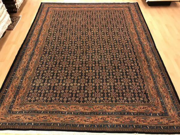 Flot persisk Enjalas spisebords tæppe