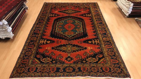 Ægte tæppe fra Hamadan i Iran