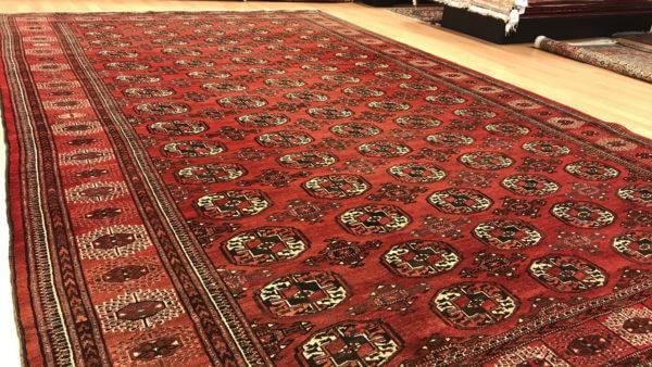Turkoman ægte tæppe