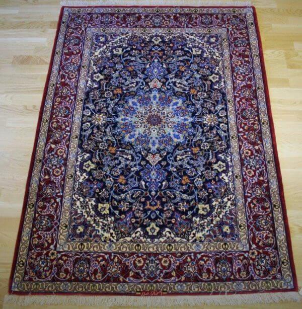Isfahan tæppe