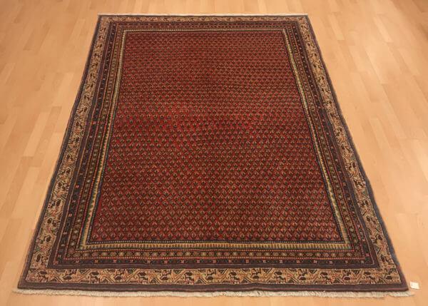 Persisk sarough tæppe fra persien