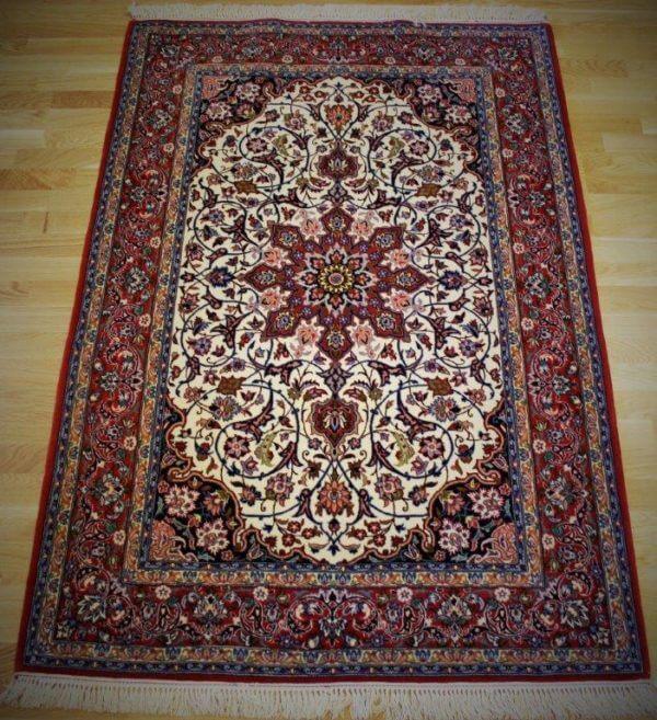 Isfahan tæppe ægte tæpper