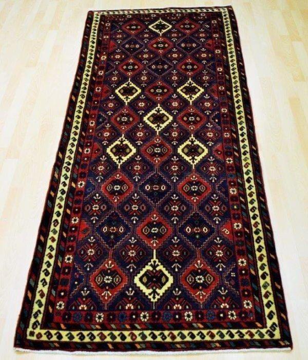 Afshar tæppe løber 250 x 80