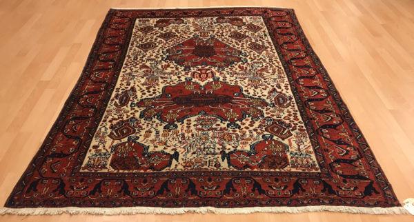 Afshar ægte tæppe persisk
