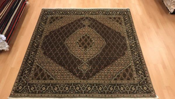 tabriz tæppe med silke Persisk tæppe