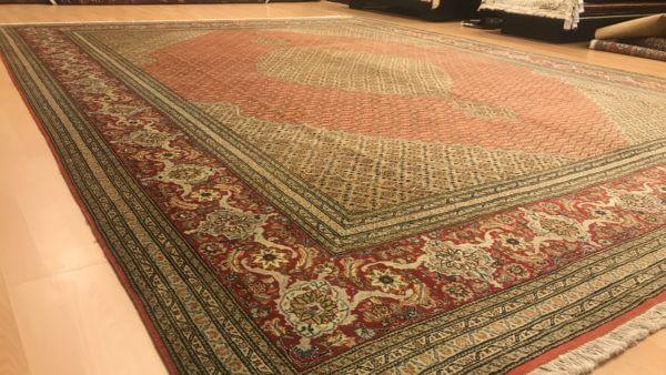 Iransk tæppe fra Tabriz 4 x 3 meter