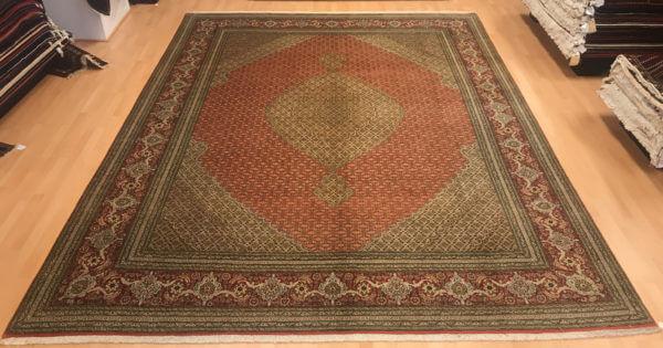 Persisk tabriz tæppe