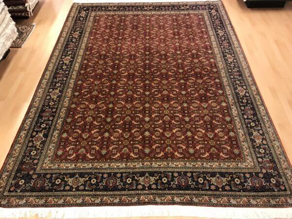 Tæbriz maralan spisestue tæppe fra Iran