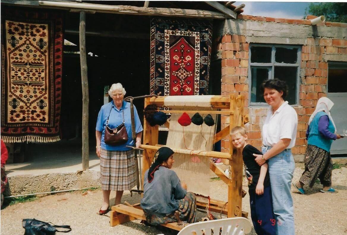 Ægte tæpper i 3 generationer