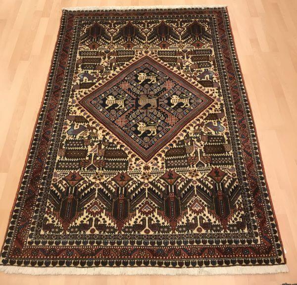 Afshar tæppe 200 x 130