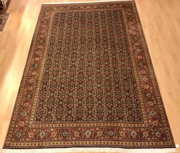 Tabriz maralan old tæppe