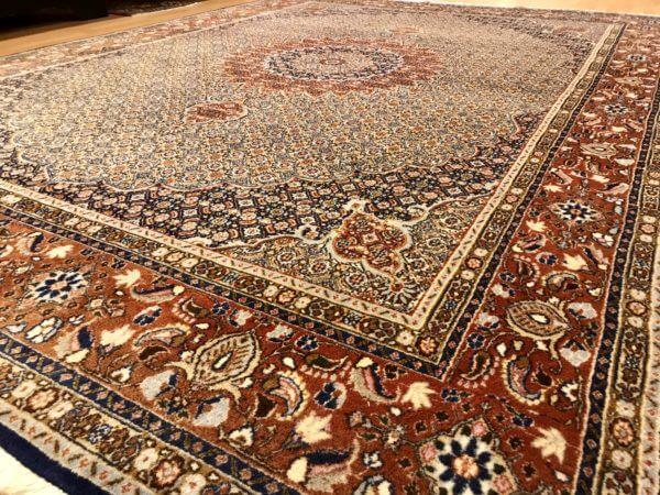 Persisk moud tæppe tilbud
