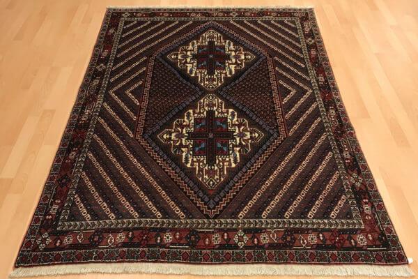 Afshar nomade tæppe