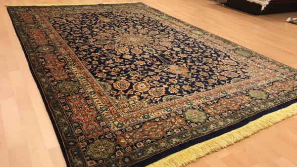 Ægte persisk tæppe fra Tæbriz