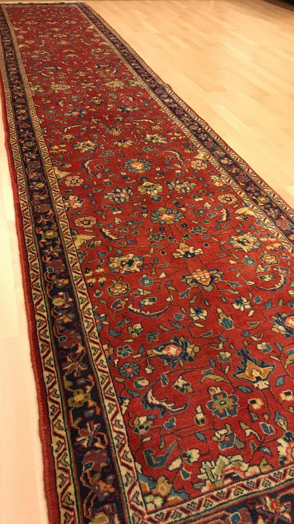 Sarough ægte tæppe løber 4 meter