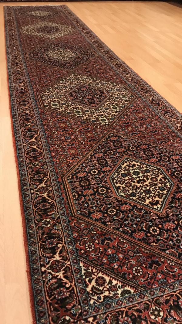 Ægte tæppe løber 4 meter