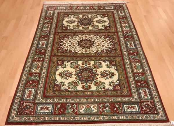 Persisk silketæppe med 1 million knuder pr m2