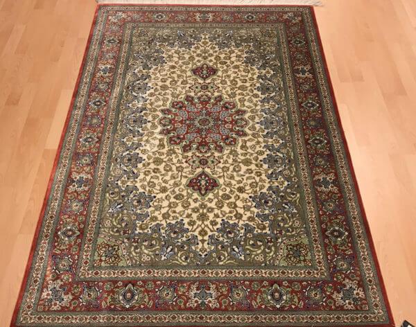 Persisk silketæppe meget tæt